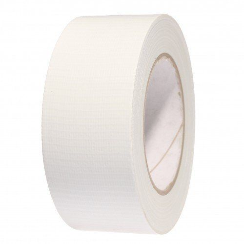 White Gaffer Tape (Duct / Cloth) 48mm x 50m - Marquee Hire / Construction Tape