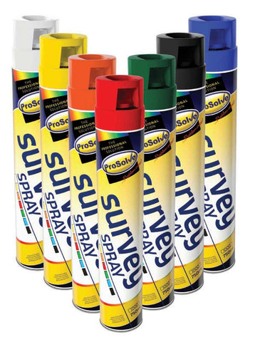 Survey Spray Paint - Yellow - 750ml