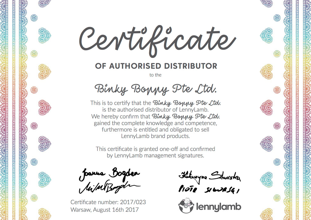 LennyLamb Authorised Distributor