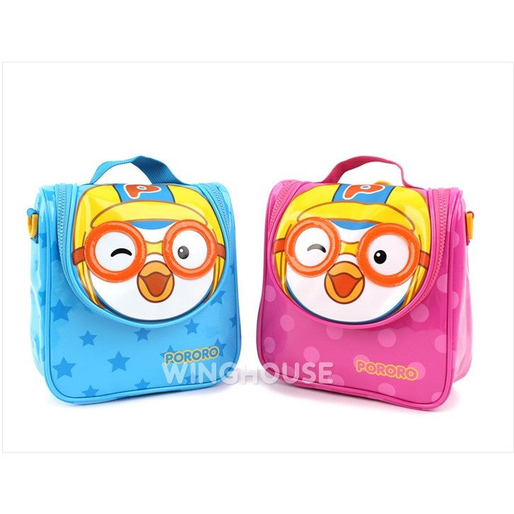 Winghouse - Pororo Two Way Bag (Pink)-Binky Boppy