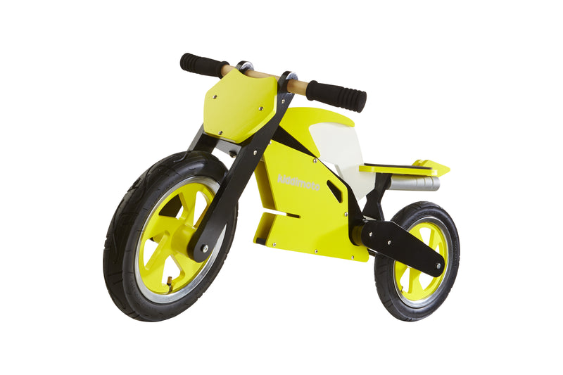 Kiddimoto - Yellow Superbike-Binky Boppy