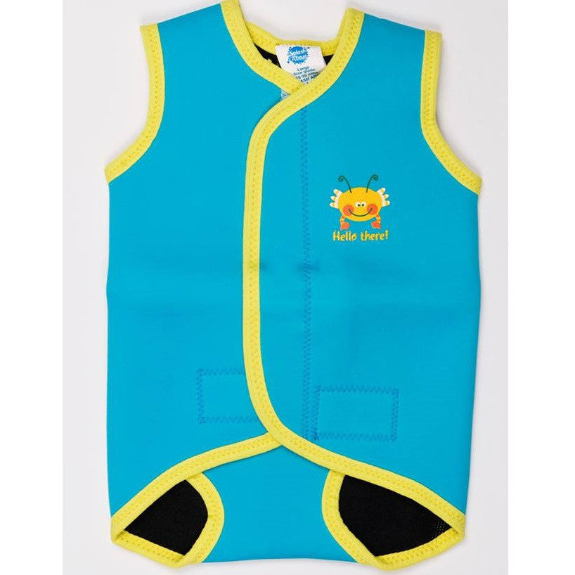 Splash About - Baby Wrap (Turquoise/Yellow Bobbing Along)-Binky Boppy