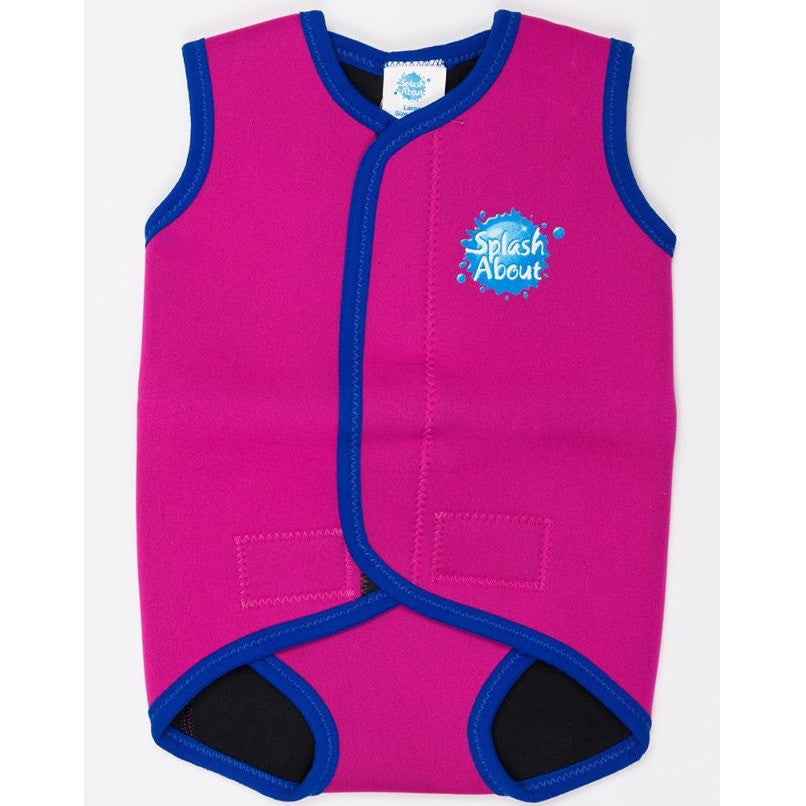 Splash About - Baby Wrap (Pink/Royal Blue Binding)-Binky Boppy