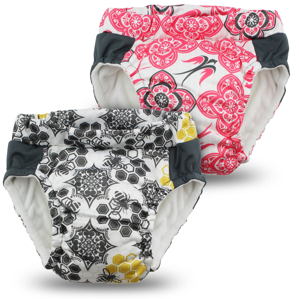 Kanga Care - Lil Learnerz Training Pants & Swim Diaper (Destiny & Unity)-Binky Boppy
