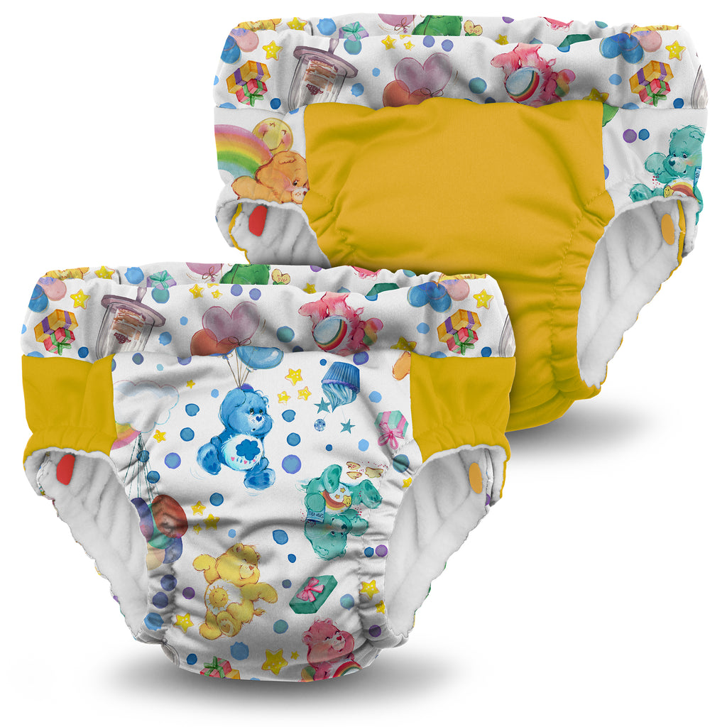 Kanga Care x Care Bears - Lil Learnerz Training Pants & Swim Diaper (Birthday Party)-Binky Boppy