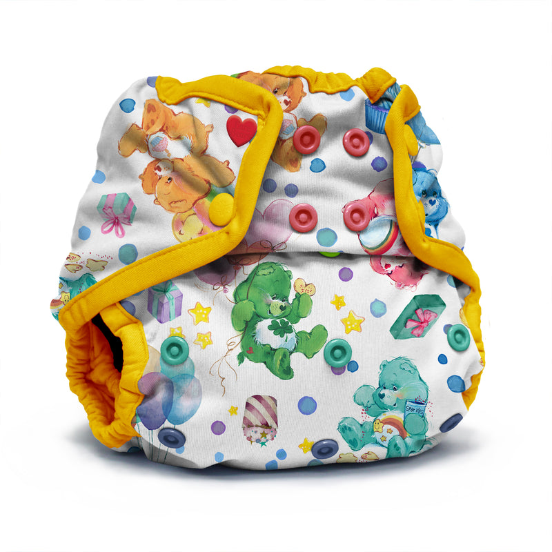 Kanga Care x Care Bears - Snap Diaper Cover (Birthday Party)-Binky Boppy