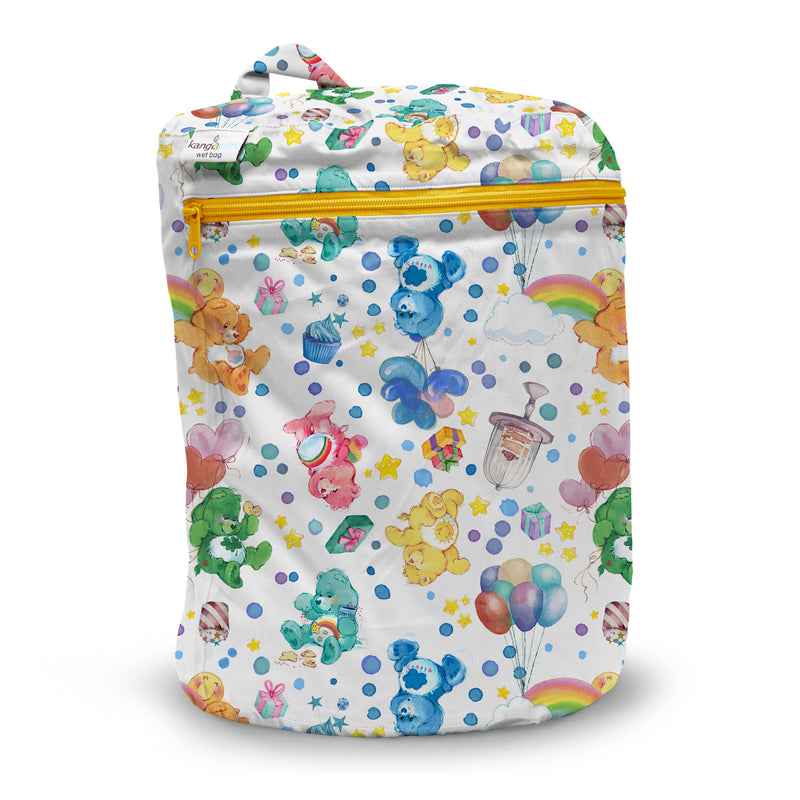 Kanga Care x Care Bears - Wet Bag (Birthday Party)-Binky Boppy