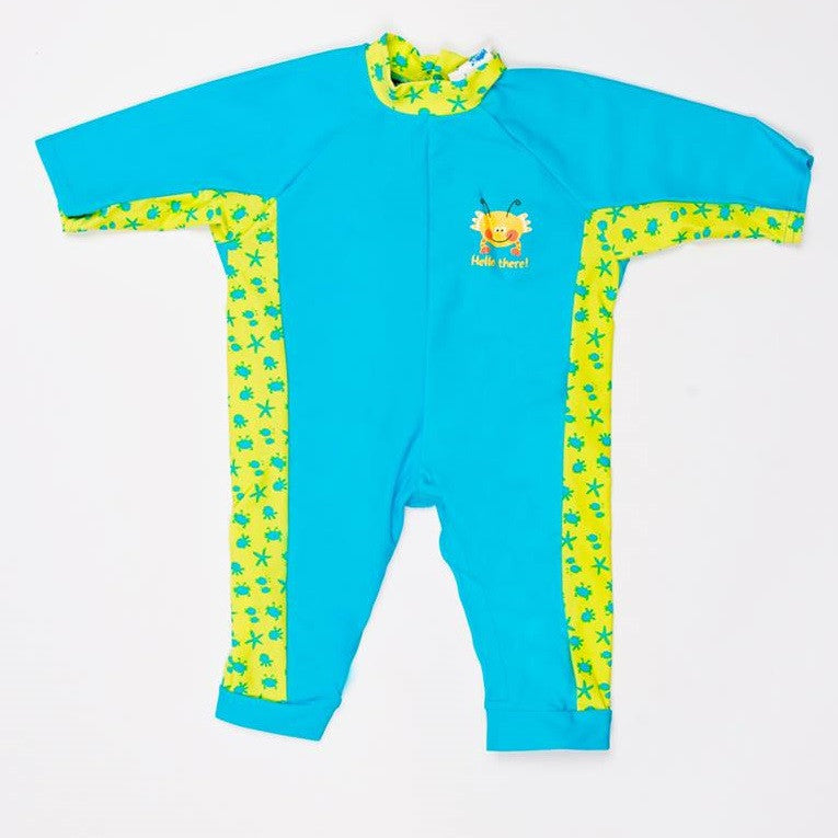 Splash About - All-in-One Suit: Bobbing Along Turquoise L-Binky Boppy