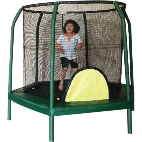 Bazoongi - 7.5 ft Hexagonal Trampoline-Binky Boppy