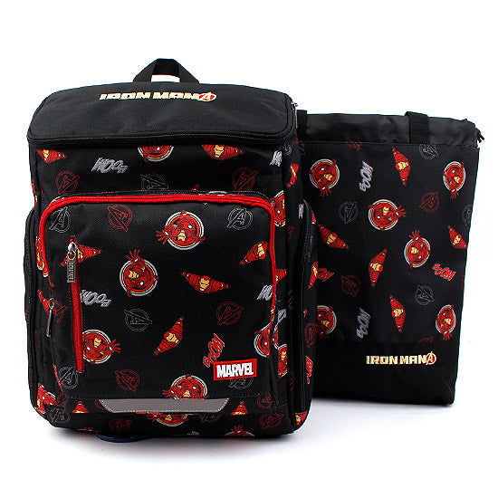 Winghouse - Ironman Cartoon Backpack Set-Binky Boppy