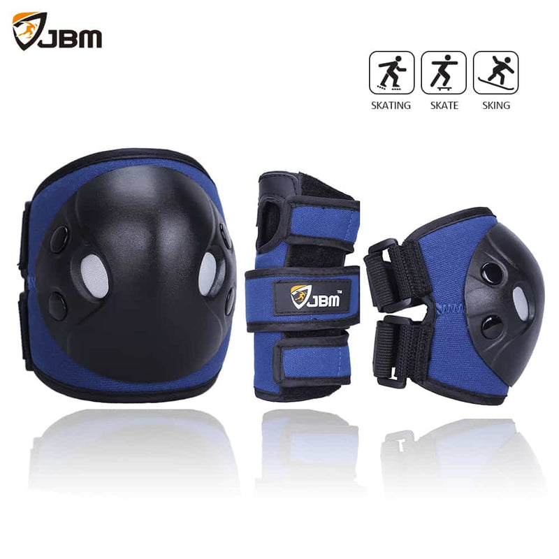 JBM - Protective Gear (Blue/Black)-Binky Boppy