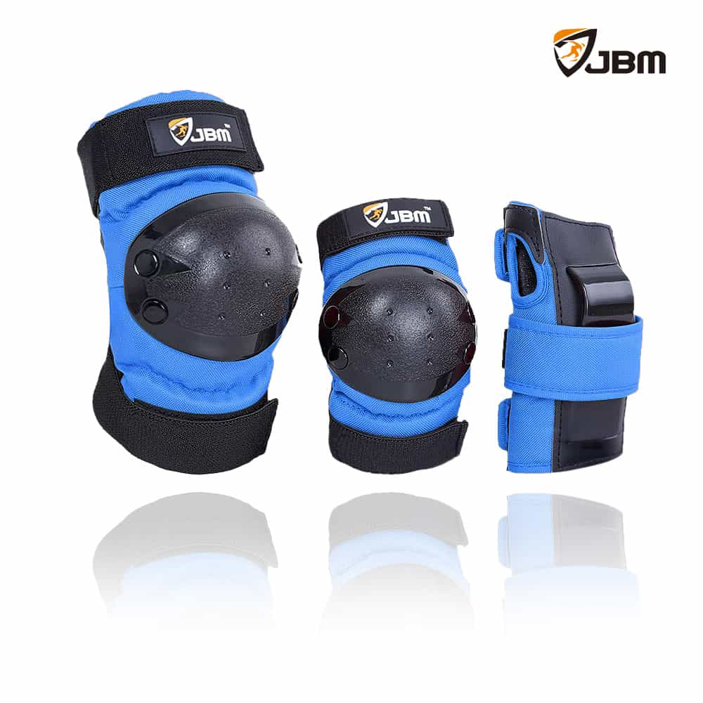 JBM Youth - Protective Gear (Blue)-Binky Boppy