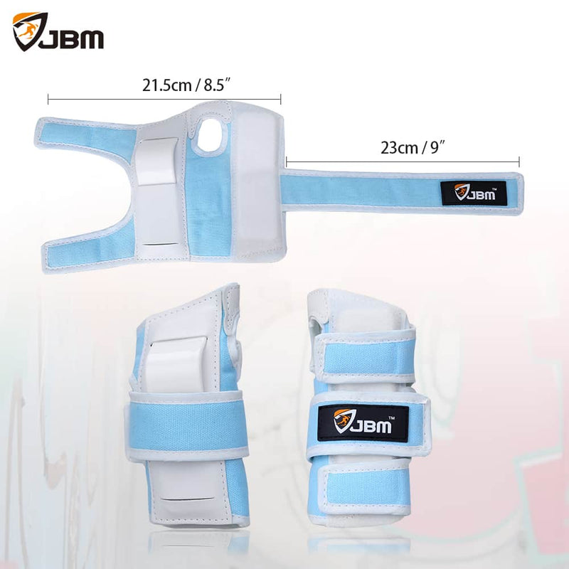 JBM - Protective Gear (Blue/White)-Binky Boppy