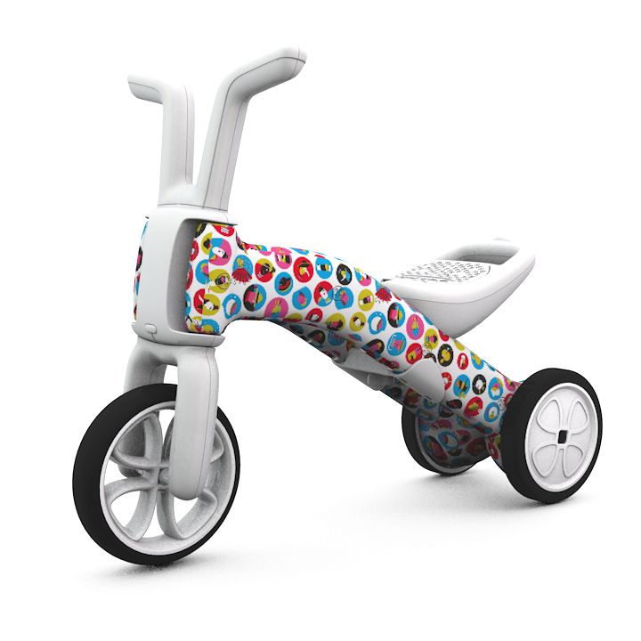Chillafish - Bunzi Gradual Balance Bike FAD Edition (Earth)-Binky Boppy