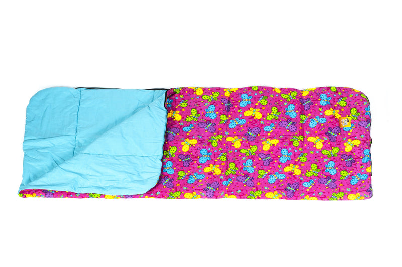 Bazoongi - Bright Butterfly Slumber Bag-Binky Boppy