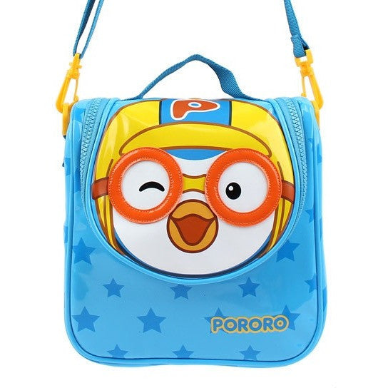 Winghouse - Pororo Two Way Bag (Blue)-Binky Boppy