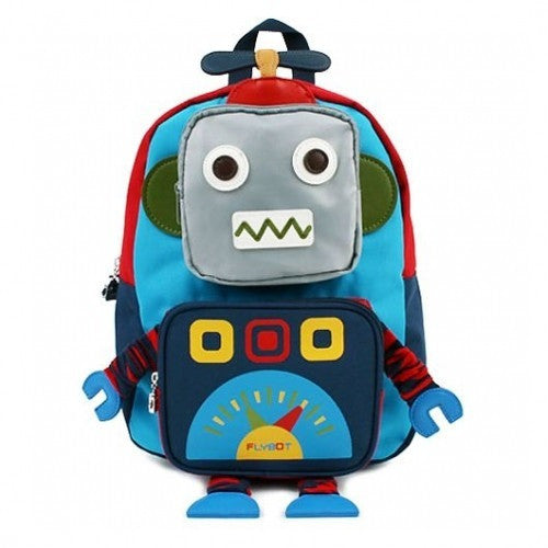 Winghouse - Flybot Play Safety Backpack (Blue)-Binky Boppy