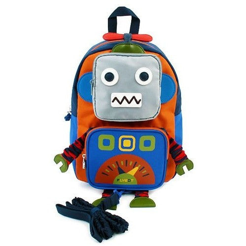 Winghouse - Flybot Play Safety Backpack (Orange)-Binky Boppy