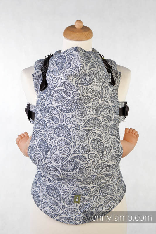 LennyLamb - Paisley Navy & Cream Carrier-Binky Boppy