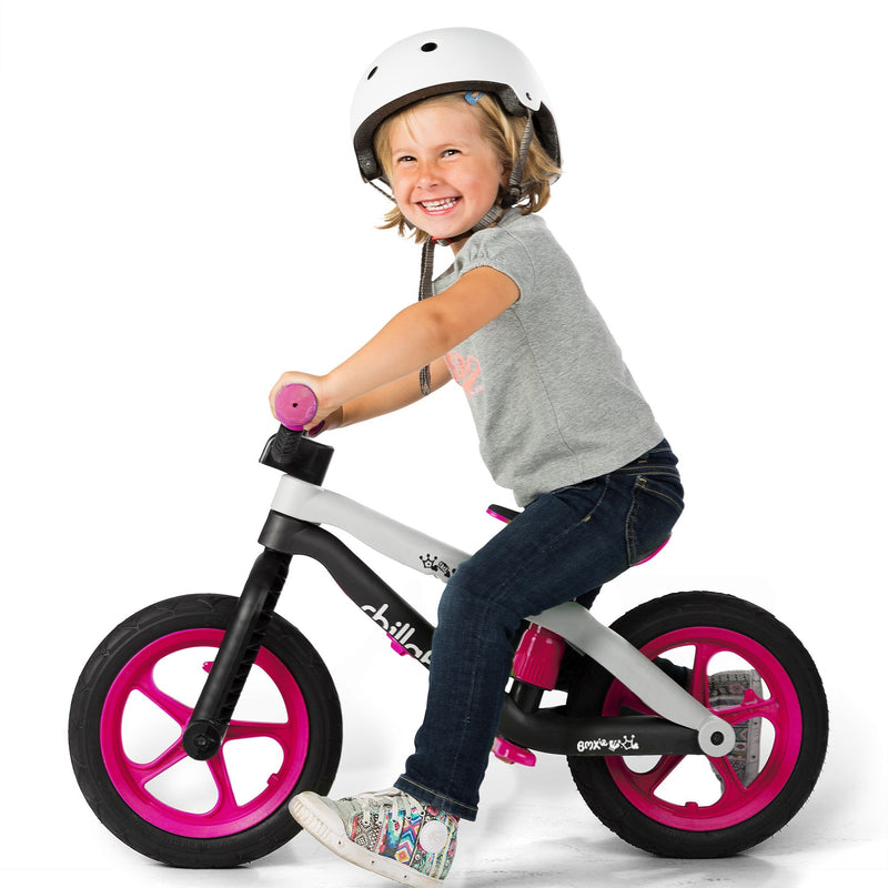 Chillafish - BMXie Balance Bike (Pink)-Binky Boppy
