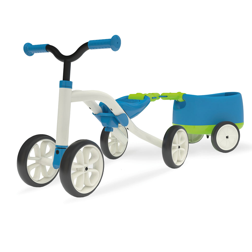 Chillafish - Quadie Bike + Trailie (Blue)-Binky Boppy