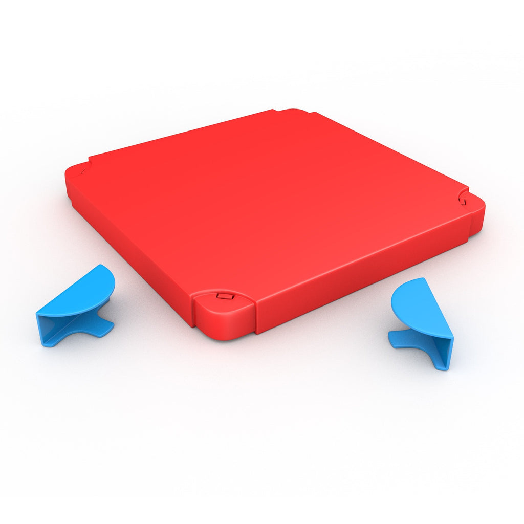 Chillafish - BOXTOP (Blue/Red)-Binky Boppy