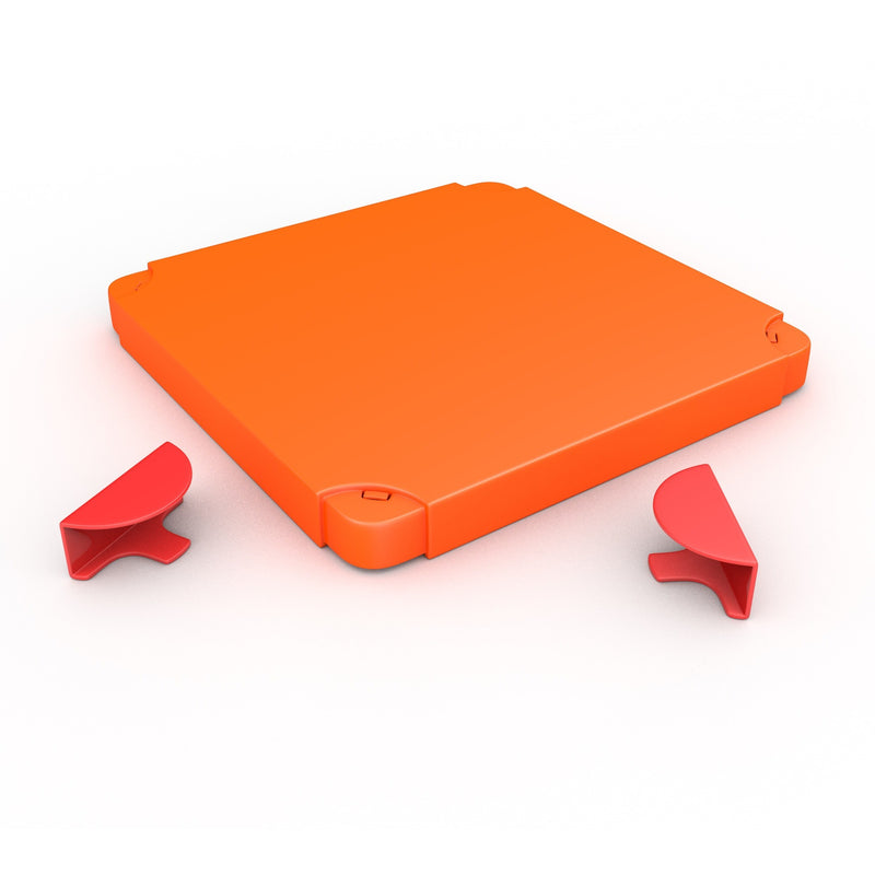 Chillafish - BOXTOP (Red/Orange)-Binky Boppy