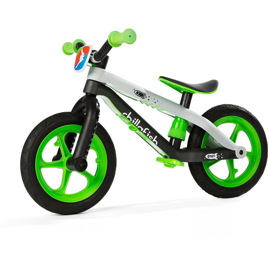 Chillafish - BMXie Balance Bike (Lime)-Binky Boppy
