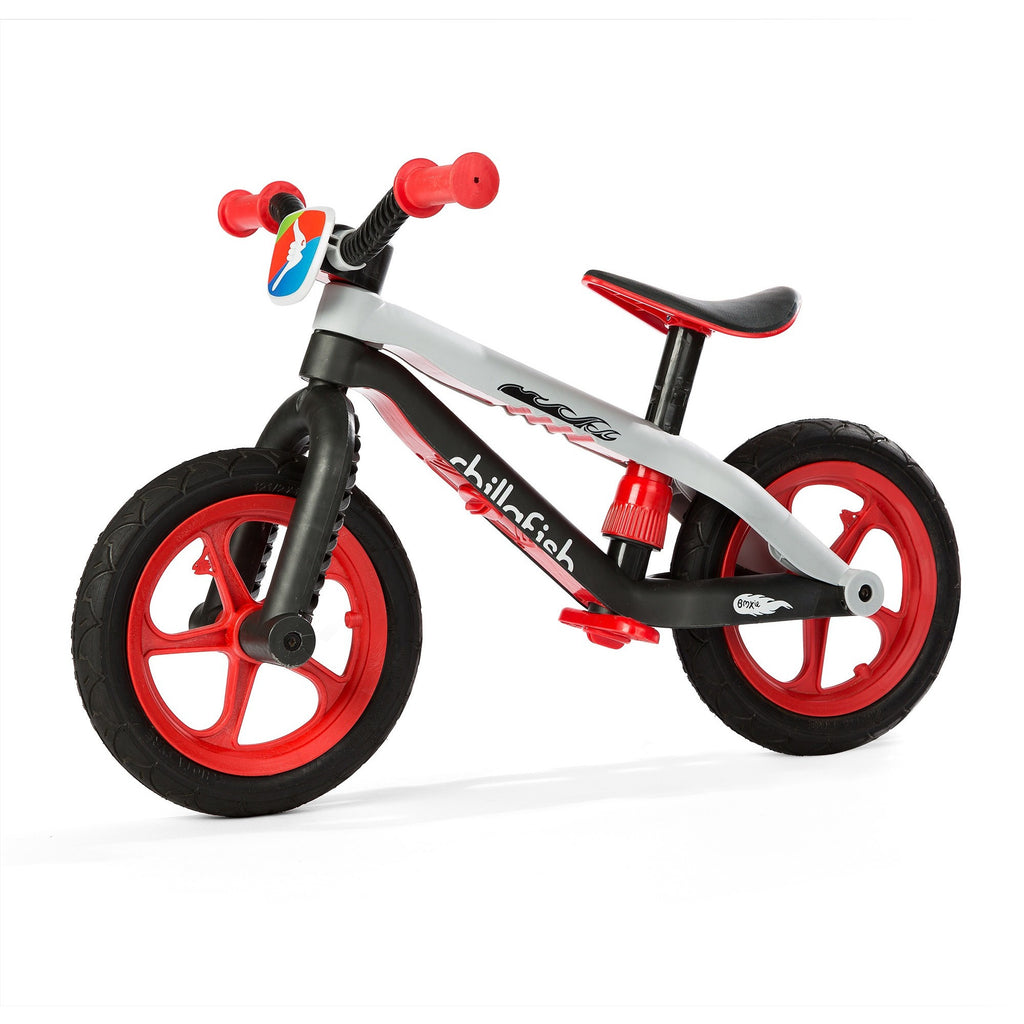 Chillafish - BMXie Balance Bike (Red)-Binky Boppy