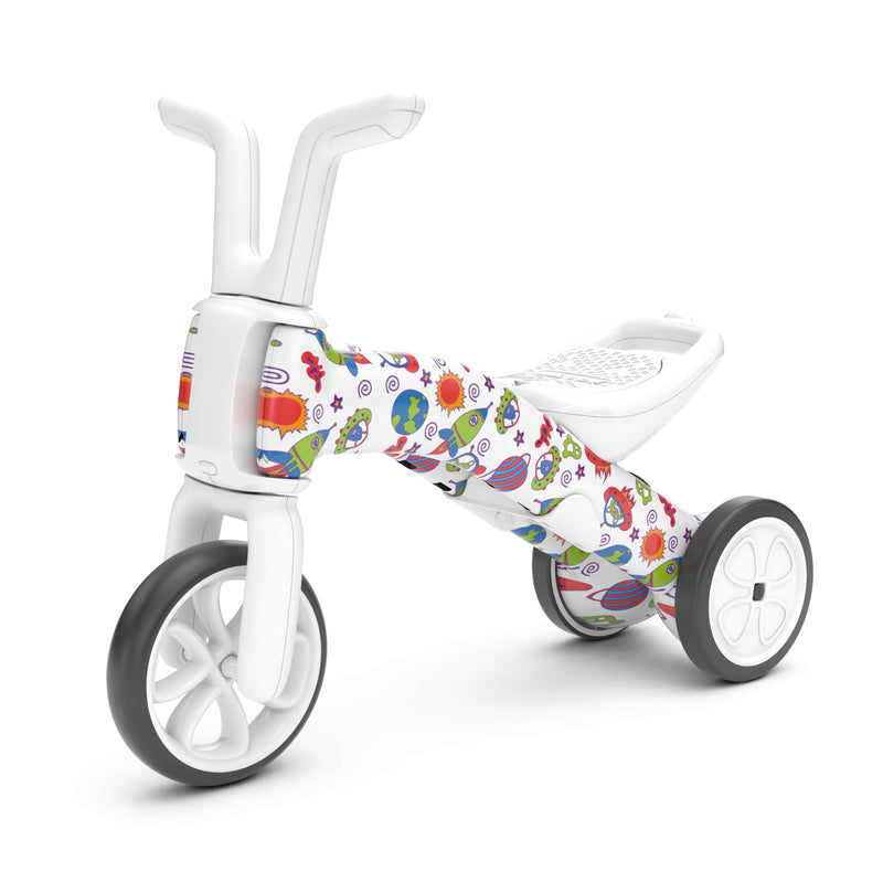 Chillafish - Bunzi Gradual Balance Bike FAD Edition (When Monsters meet Stars)-Binky Boppy