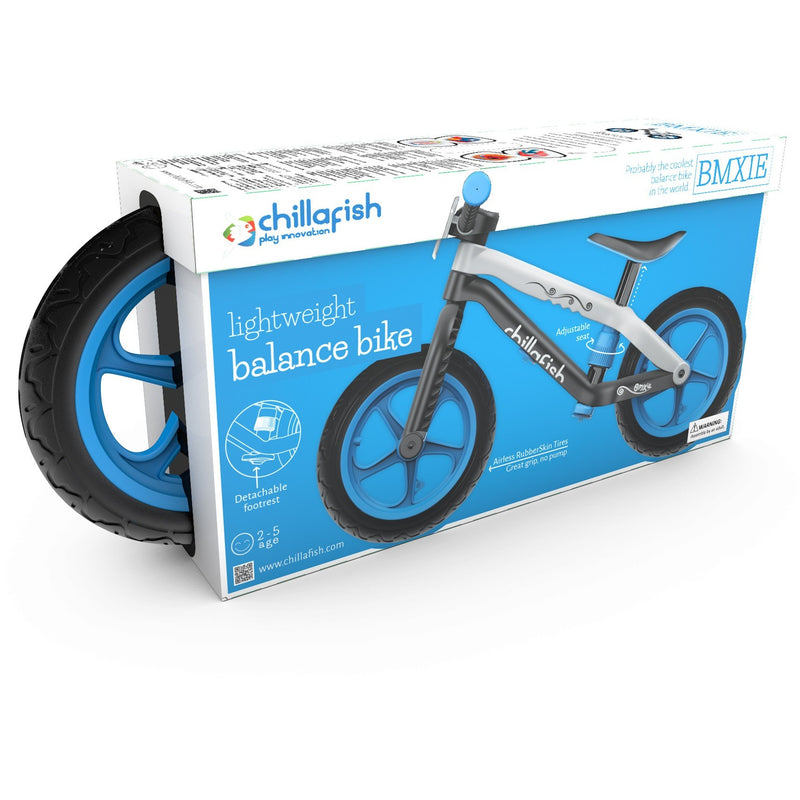 Chillafish - BMXie Balance Bike (Blue)-Binky Boppy