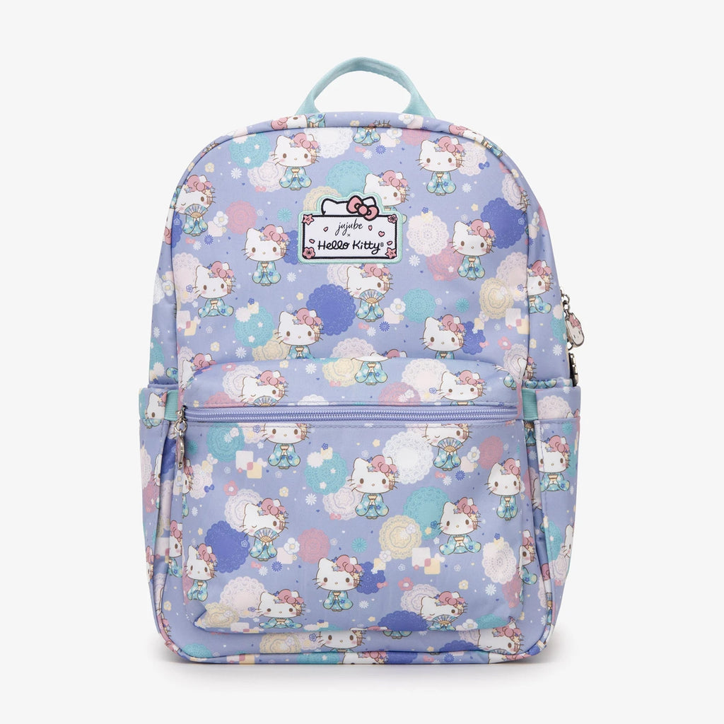 Jujube Hello Kitty - Midi Backpack (Kimono Kitty)-Binky Boppy