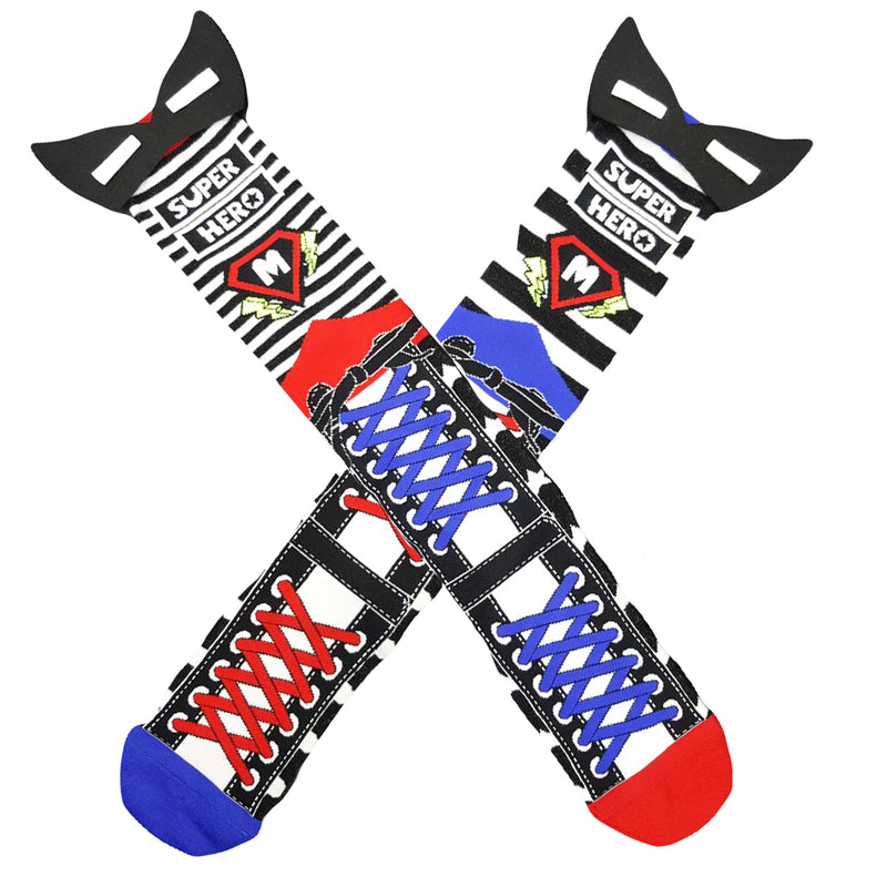 MadMia - Superhero Socks-Binky Boppy