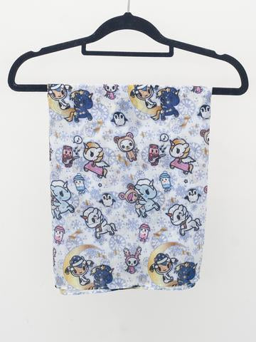 Tokidoki - Wonderland Lightweight Scarf (Winter Sonata)-Binky Boppy