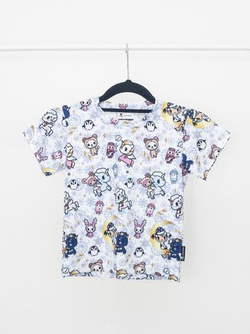 Tokidoki - Winter Wonderland Tee in White (Kids)-Binky Boppy