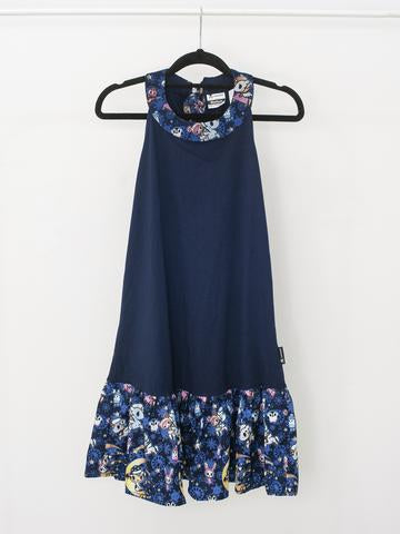 Tokidoki - Winter Dreams Dress in Blue (Adult)-Binky Boppy