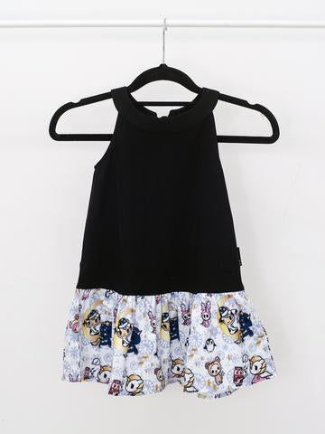 Tokidoki - Winter Wonderland Dress in White (Kids)-Binky Boppy