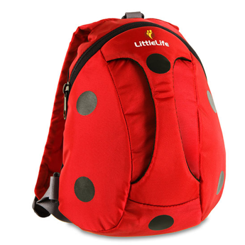 LittleLife - Animal Active Grip Daysack (Ladybird)-Binky Boppy