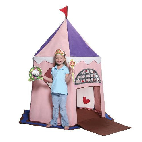 Bazoongi - Fairy Princess Castle Play Tent-Binky Boppy