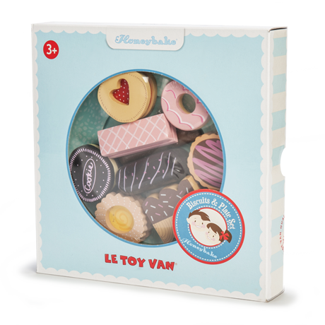 Le Toy Van - Biscuit & Plate Set-Binky Boppy