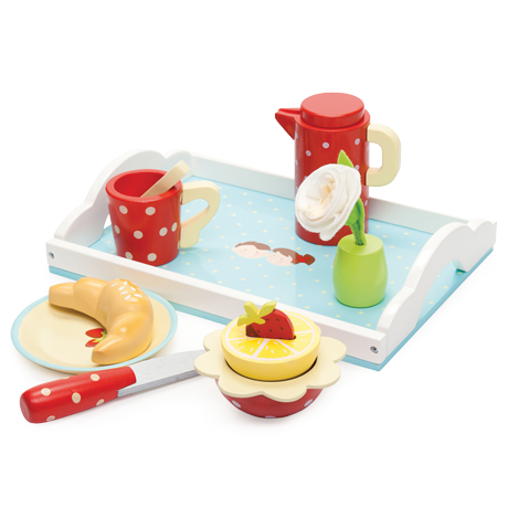 Le Toy Van - Breakfast Tray-Binky Boppy