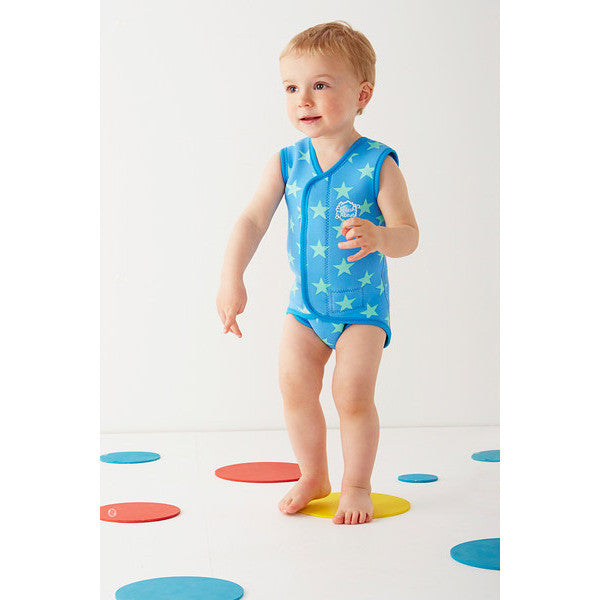 Splash About - Baby Wrap (Blue Stars)-Binky Boppy