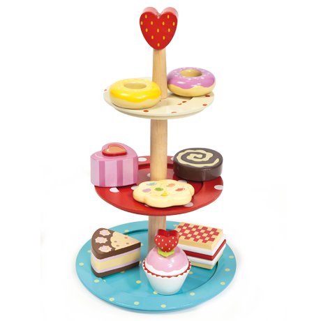 Le Toy Van - Cake Stand Set-Binky Boppy