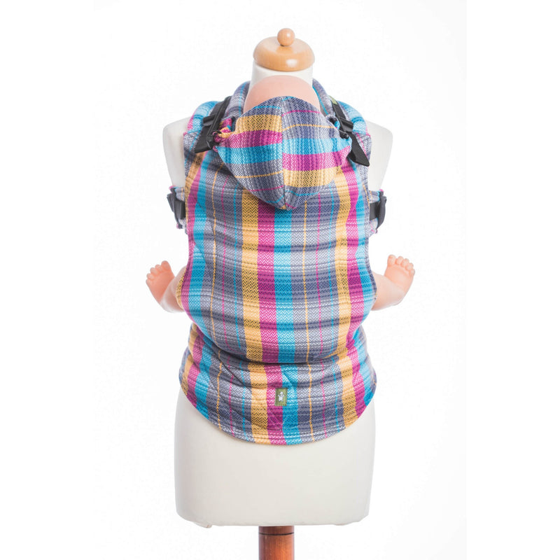 LennyLamb - Little Herringbone Citylights Carrier-Binky Boppy