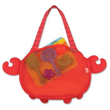 Stephen Joseph - Beach Tote (Crab)-Binky Boppy