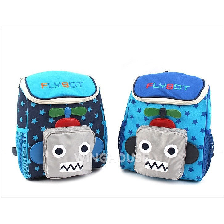 Winghouse - Flybot Sky Backpack (Sky Blue)-Binky Boppy