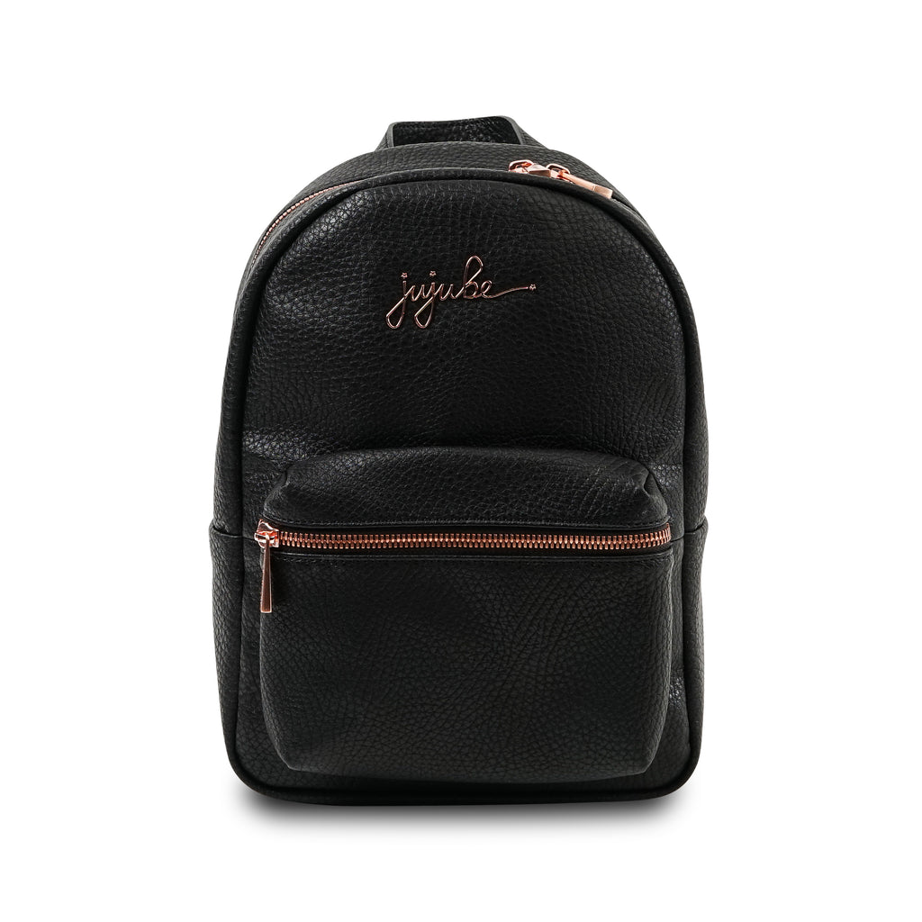 Jujube Leather - Mini Backpack (Noir)-Binky Boppy