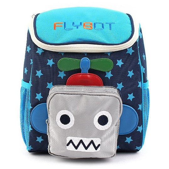 Winghouse - Flybot Sky Backpack (Navy)-Binky Boppy
