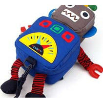 Winghouse - Flybot Toy Safety Backpack (Blue)-Binky Boppy