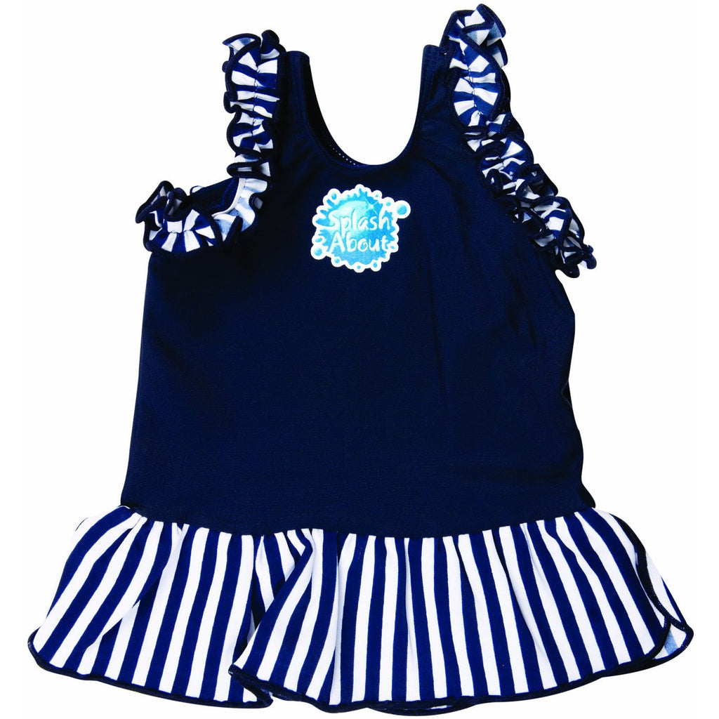 Splash About - Frou Frou (Navy)-Binky Boppy